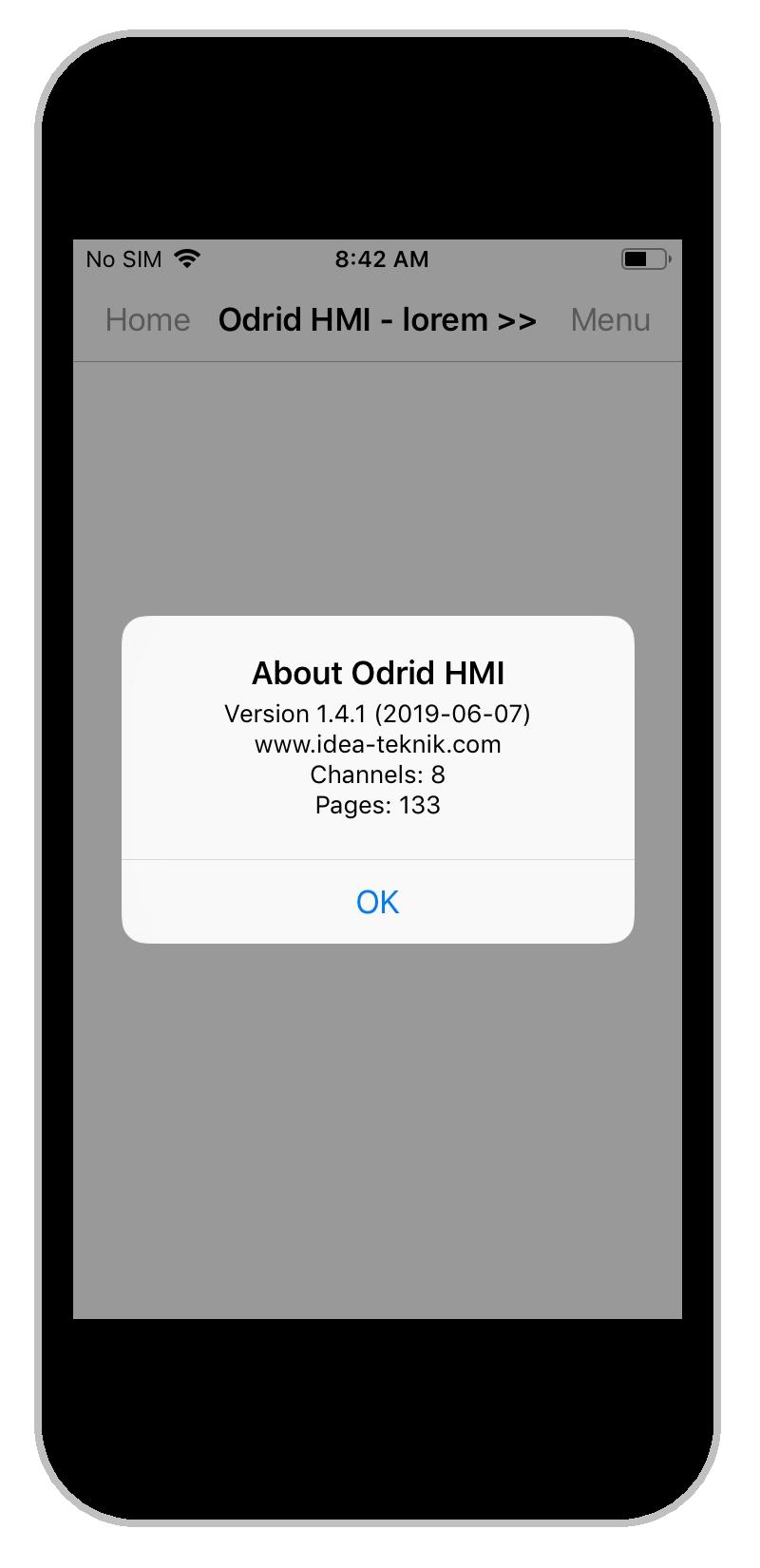 HMI Droid manual